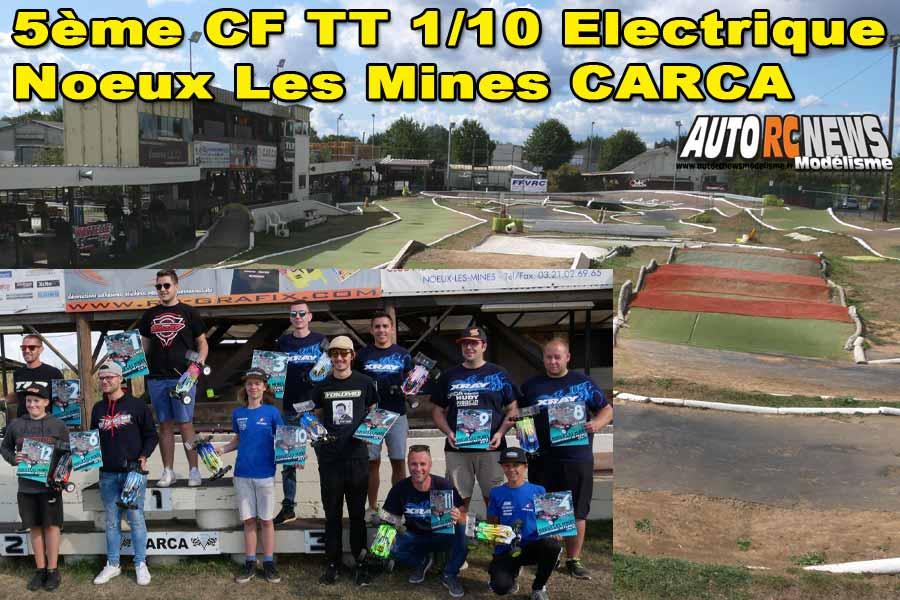 5ème cf tt 1/10 électrique à noeux les mines club carca les 31 août et 1er septembre 2019