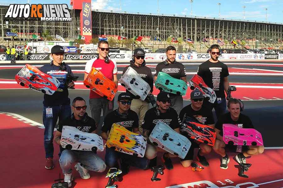 championnat du monde piste 1/8 thermique 4 x 4 à fontana californie du 26 octobre au 2 novembre 2019