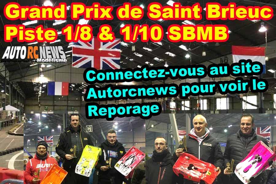 20ème grand prix de saint brieuc piste 1/8 thermique 4 x 4, classique et bls et piste 1/10 du 10 au 12 janvier 2020