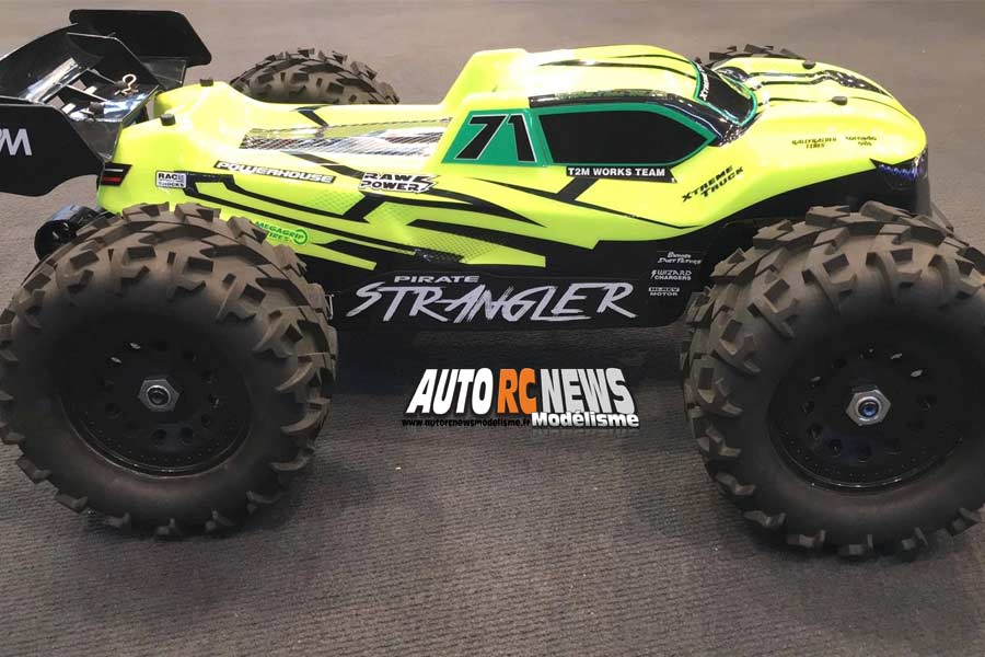 nouveau truggy t2m pirate strangler 1/10 4x4 brushless t4951
